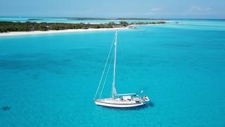 Sailing Bahamas, Sailing Exuma, Normans & Shroud Cay - Hallberg Rassy54 Cloudy Bay - Jan'20. S20 Ep6