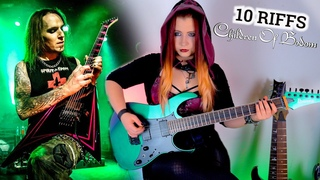 10 Children Of Bodom RIFFS | Tribute to Alexi Laiho