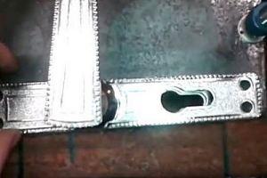 Калитка из металлопрофиля своими руками – схема + порядок выполнения работы, изображение №51