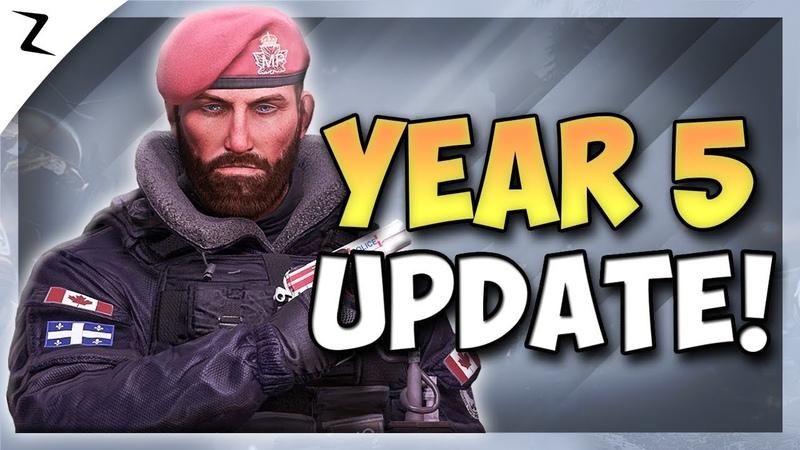 Year 5 Leaks! Ubisoft Responds, Battle Pass 2 New Operators - Rainbow Six Siege
