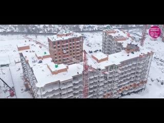 ЖК Видный Город конец января 2021 г.