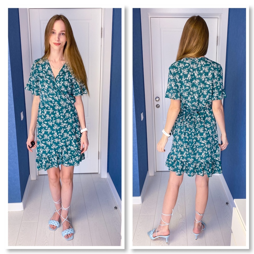 Платье на запАх для следующего лета.