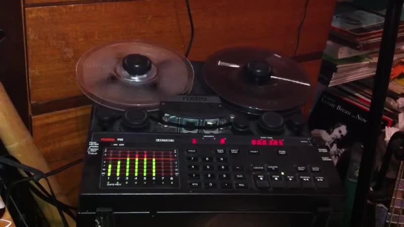 Fostex 8 track recorder Moog Korg Roland