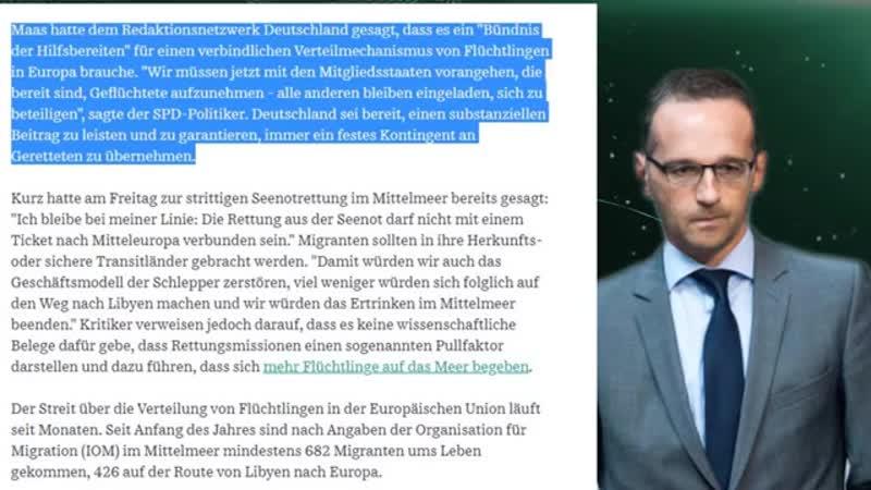 Heiko Maas stellt neue Forderungen und nimmt Deutschland in die Pflicht SPD