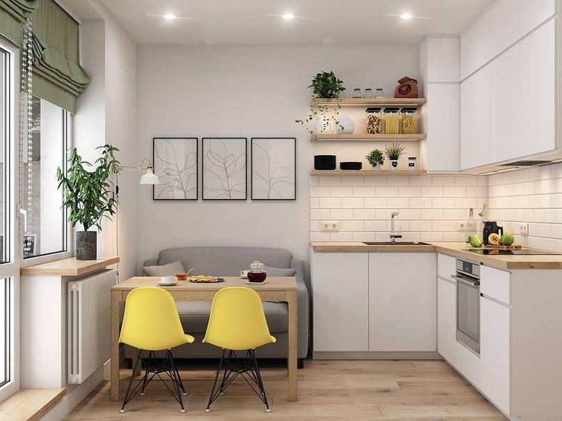 7 проектов от профи, как оформить дизайн кухни-гостиной площадью 12 м2, изображение №3