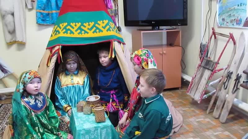 Мой родной ханты язык с Питляр Ямало Ненецкий автономный округ