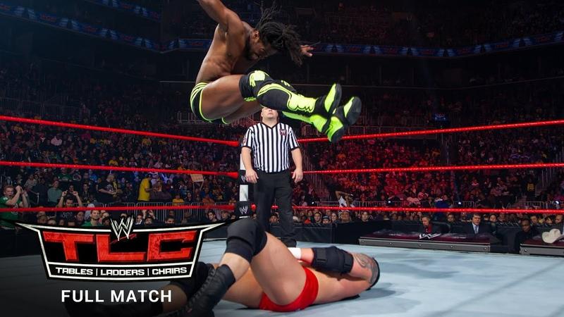 FULL MATCH Kofi Kingston vs Wade Barrett Intercontinental Title Match WWE TLC 2012