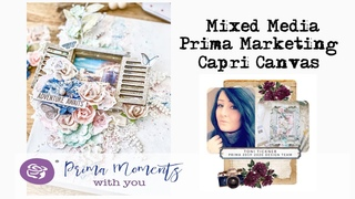 Prima Marketing Mixed Media Capri Canvas