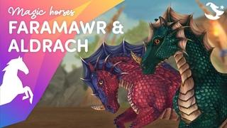 Meet Faramawr & Aldrach 🐉   Star Stable Magic Horses ✨
