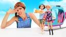 Барби и вертолет. Игры готовка с Барби Маша Капуки. Видео с куклами для девочек