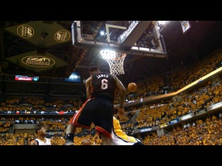 Phantom: LeBron James Takes on the Pacers in Game 4