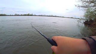 Рыбалка на жереха на Оке началась с неприятностей!