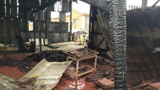 Пожар в Рузаевке   The Fire in Ruzaevka