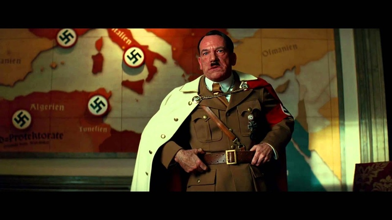 Hitler ranting about the Basterds