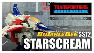 Hasbro Transformers Studio Series 72 Bumblebee Movie STARSCREAM review