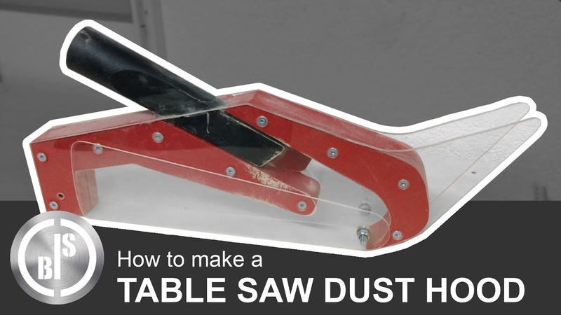 How to Make a Table Saw Dust Hood
