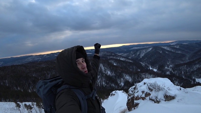 Поход по караульной тропе Поход с палаткой на сутки пещера Еленева Столбы