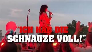 """NENA wütet auf Konzert: """"Holt mich mit der Polizei hier runter!"""" ᴴᴰ"""