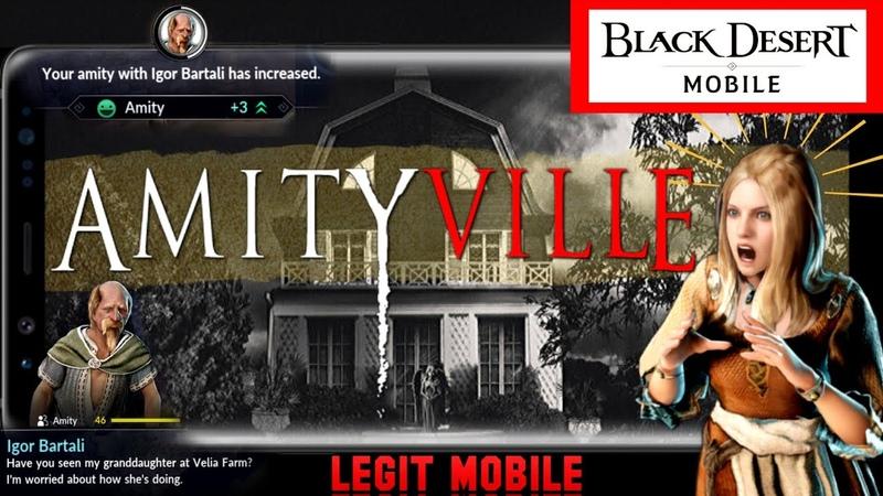 Amity Guide, Free 500 BlackPearls 50k Contribution Exp! Tips Tricks Black Desert Mobile