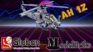 BELL AH-1z Viper . Лего обзор вертолета AH-1