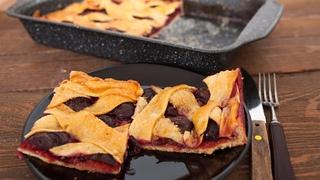 Pita sa šljivama - Plum pie - Bebina kuhinja - Domaći video recept