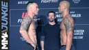 UFC on ESPN 5 weigh in face offs