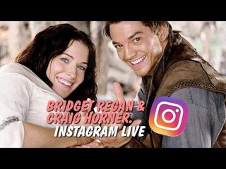 Bridget Regan & Craig Horner, Instagram Live: April 30