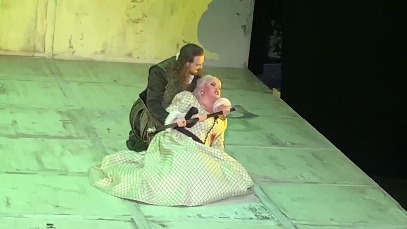 Vladislav Sulimsky,Monastyrska- Дуэт Леоноры и графа ди Луна из оперы Трубадур/ Udiste?...Vivrà!