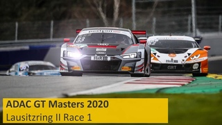 Race 1 | Lausitzring II 2020 | ADAC GT Masters | Live | English