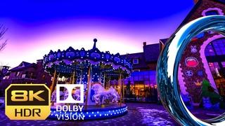 8K HDR 60fps Timelapse|Dolby Vision|Merry-go-round|NFT Digital Art