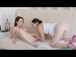 [Dyked] Leanne Lace, Elena Vega - Eye-To-Eye [2020, All Sex, Blonde, Tits Job, Big Tits, Big Areolas, Big Naturals, Blowjob]