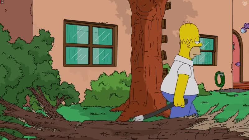 Симпсоны 31 сезон отрывок серия Мардж Лесоруб