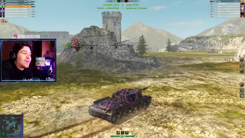 WoT Blitz Даже любители КВ 2 оценят СУ 152 ● Невероятные выстрелы в пиксель против 8 WoTB