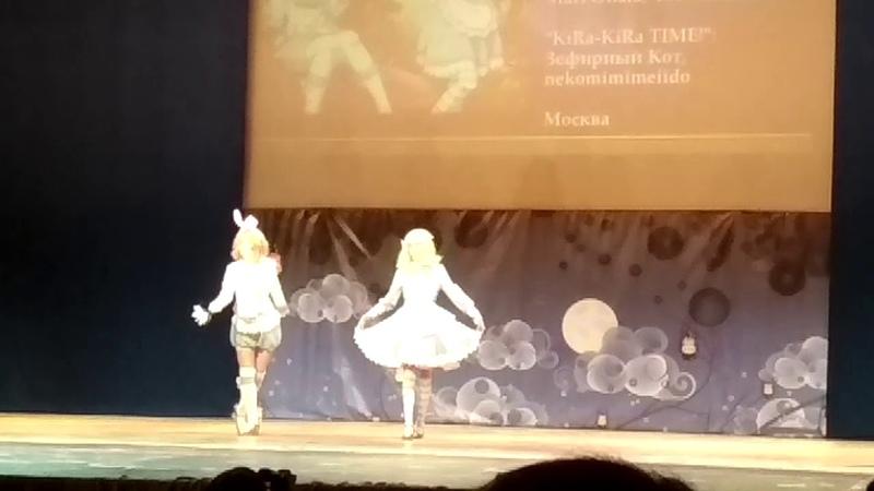 Love Live! Sunshine!! Mari Ohara, You Watanabe — KiRa KiRa TIME! Зефирный Кот, nekomimimeiido