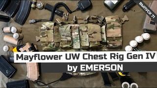 Mayflower UW Chest Rig Gen IV | Emerson