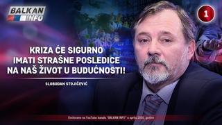 INTERVJU: Slobodan Stojičević - Kriza će sigurno imati strašne posledice na naš život! ()