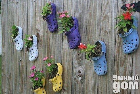 Креативные идеи оформления садового участка!!!