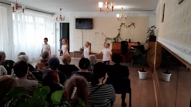 Выступление Доманова Дарья коллектив Алегро в Терцентре