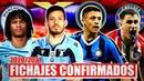Nuevos Fichajes Confirmados 2020/2021 | Mercado de Verano Transferencias Fútbol