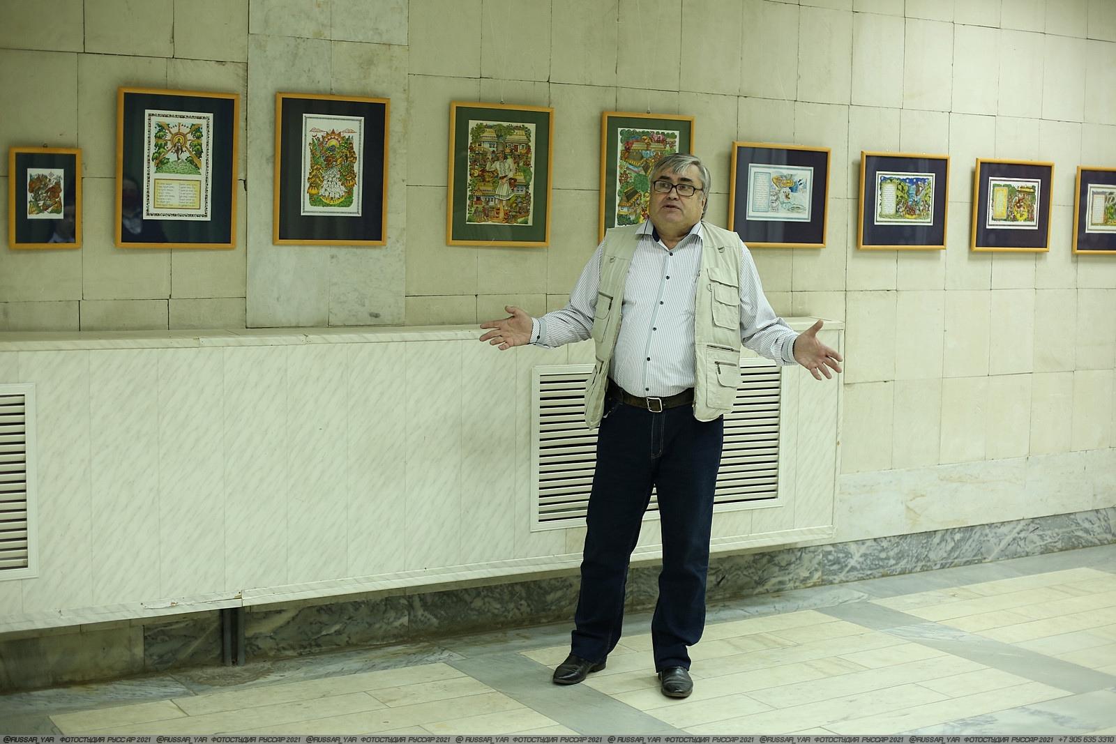В ДК Судостроитель открыта авторская выставка «Молдавские народные сказки»