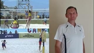 Пляжный волейбол. Взаимодействие блок-защита.