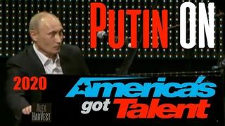 MARVELLOUS: Vladimir Putin On America's Got Talent 2020! ШОК! ПУТИН порвал Американское шоу!