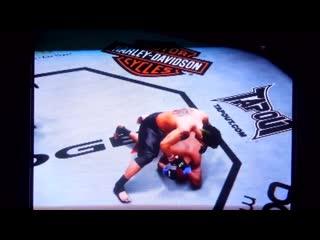 UFC 3 Punk Rock vs Gay  vs Faggoth,Pulver,Dan Hardy,Liddell,Heath
