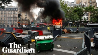 France protests: Bastille Day clashes with police amid anger at tighter Covid rules