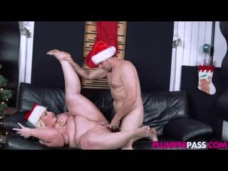 18-12-2020 - Zoey Skyy - Christmas Came Early [BBW, Big Tits, Big Ass, All Sex, Blonde, Blowjob, Porn, Порно, Толстушка, Пышка]