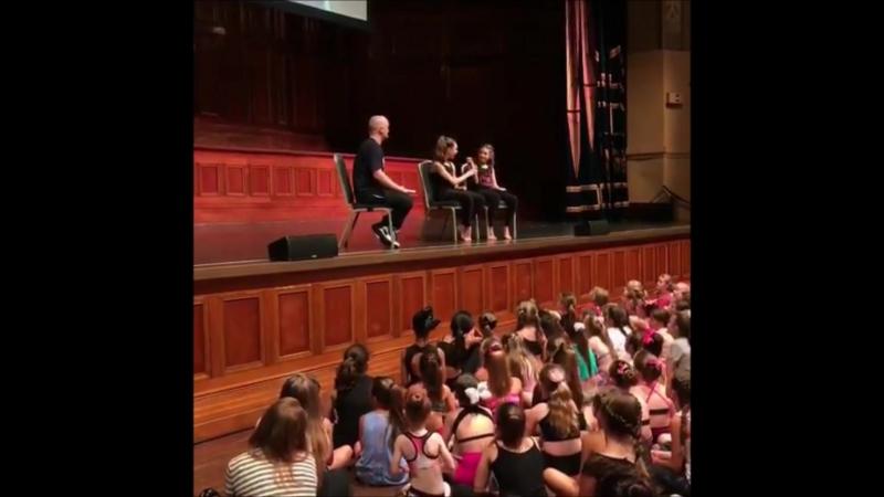 Ziegler Girls Tour Melburne