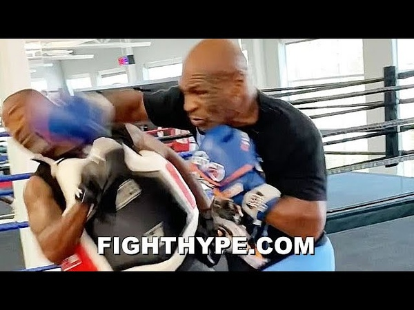 MIKE TYSON NEARLY KNOCKS TRAINER'S HEAD OFF NEW TRAINING LEAK SHOWS DANGER IN STORE FOR ROY JONES