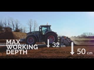 Новый многофункциональный подвесной ресайклер-стабилизатор FAE MTH-MTH-HP для тракторов мощностью 300-500 л.с.