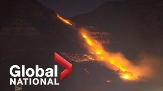 Table mountain fire: Heavy winds fan flames as wildfire forces evacuations in Cape Town