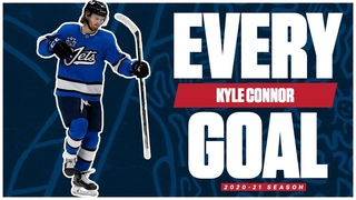 Every Kyle Connor Goal From The 2020-21 NHL Season